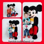 Mickey en mini mouse Spider-Man ballonnenclow